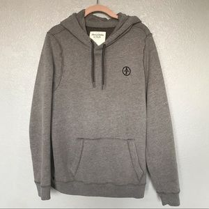 Abercrombie & Fitch Shirts - EUC Abercrombie & Fitch Grey Pullover Hood Sweater